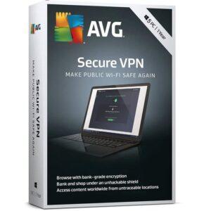 AVG Secure VPN 5 Device 1Year
