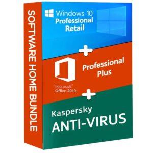 Windows 10 Pro Microsoft Office 2019 Pro Plus Kaspersky Anti Virus